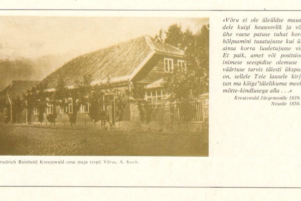 Kreutzwaldiga seotud paigad