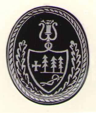 Kristallkleebis - Kreutzwaldi pitsati jäljendiga (stiliseeritud)